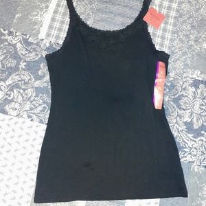 Mossimo Lace Trimmed Tank/Cami. NWT